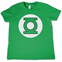 Green Lantern Officially Licensed Logo Unisex Kids T Shirts Ages 3-12 Years