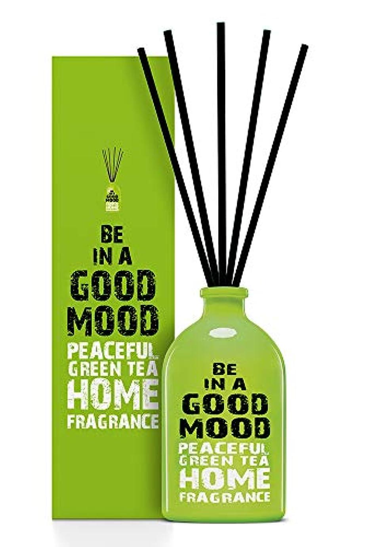 キャメル謙虚な届けるBE IN A GOOD MOOD ルームフレグランス スティック タイプ GREEN TEAの香り (100ml)