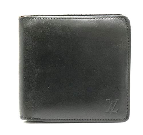 [ルイ ヴィトン] LOUIS VUITTON ノマド ポルトフォイユ マルコ 2つ折財布 ノワール 黒 ブラック M85016 [中古]
