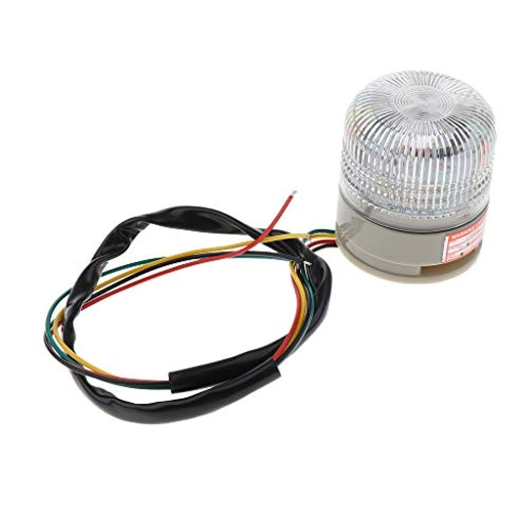 事業バーゲン山岳Shiwaki 点滅信号 警報ランプ LED警告灯 回転三色 LEDの警報ランプライト