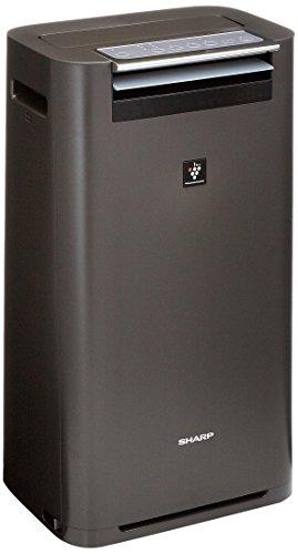 シャープ 加湿空気清浄機 プラズマクラスター25000 13畳/空気清浄 23畳 グレー KI-GS50-H