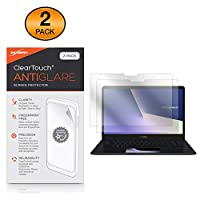 BoxWave ASUS ZenBook Pro 15 (UX580) スクリーンプロテクター [ClearTouch Anti-Glare (2枚パック) ] 指紋防止 マット フィルム スキン ASUS ZenBook Pro 15 (UX580)