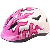 キッズクランク安全ヘルメット、男の子と女の子用ローラースケートスケートボード安全ヘルメットBMXスクーターサイクリング