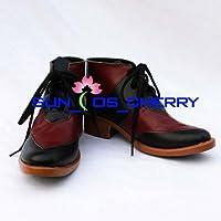 【サイズ選択可】コスプレ靴 ブーツ K-361 TIGER & BUNNY 鏑木・T・虎徹 男性25CM