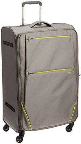 [ヒデオワカマツ] スーツケース フライII 超軽量ソフトキャリー 容量80(88)L 縦サイズ77cm 重量3.1kg 85-76025 5 グレー グレー