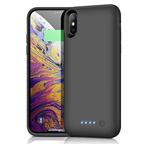 iPhoneX/XS/10 バッテリーケース 6500mAh...