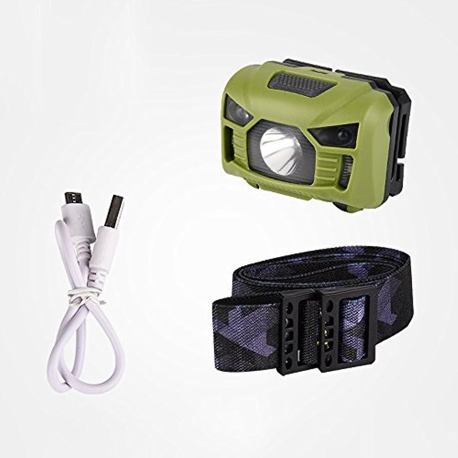 レジデータ上へ釣りセンサーヘッドライトLEDライト超明るい充電式長距離夜釣り餌ランプ懐中電灯