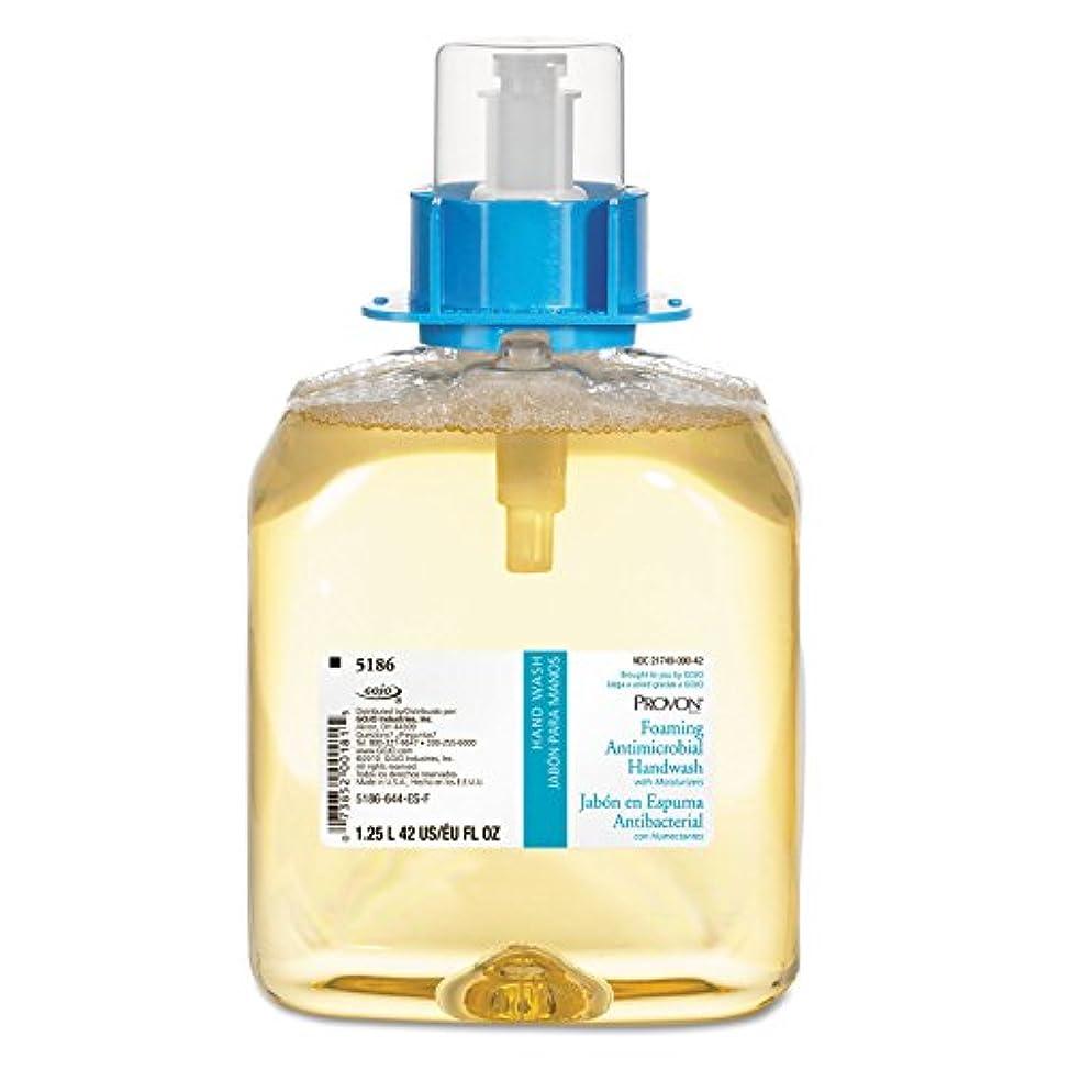 咽頭間違いぞっとするようなgo-jo Industries 518603 CT FOAM Handwash、保湿、ライトフローラル、fmx-12ディスペンサー、1250 mlポンプ