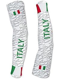 イタリアScudoPro Compression Arm Sleeves UV保護ユニセックス – Walking – サイクリング – Running – ゴルフ – 野球 – バスケットボール