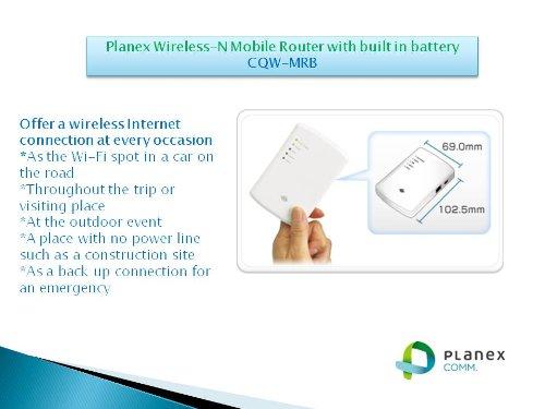 PLANEX WPSボタン搭載 IEEE802.11g/b  高機能・ハイパワー無線LANブロードバンドルータ BLW-54CW3