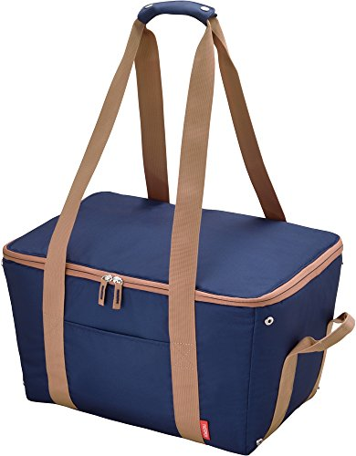 サーモス 保冷 買い物カゴ用バッグ 約25L ブルー REJ...