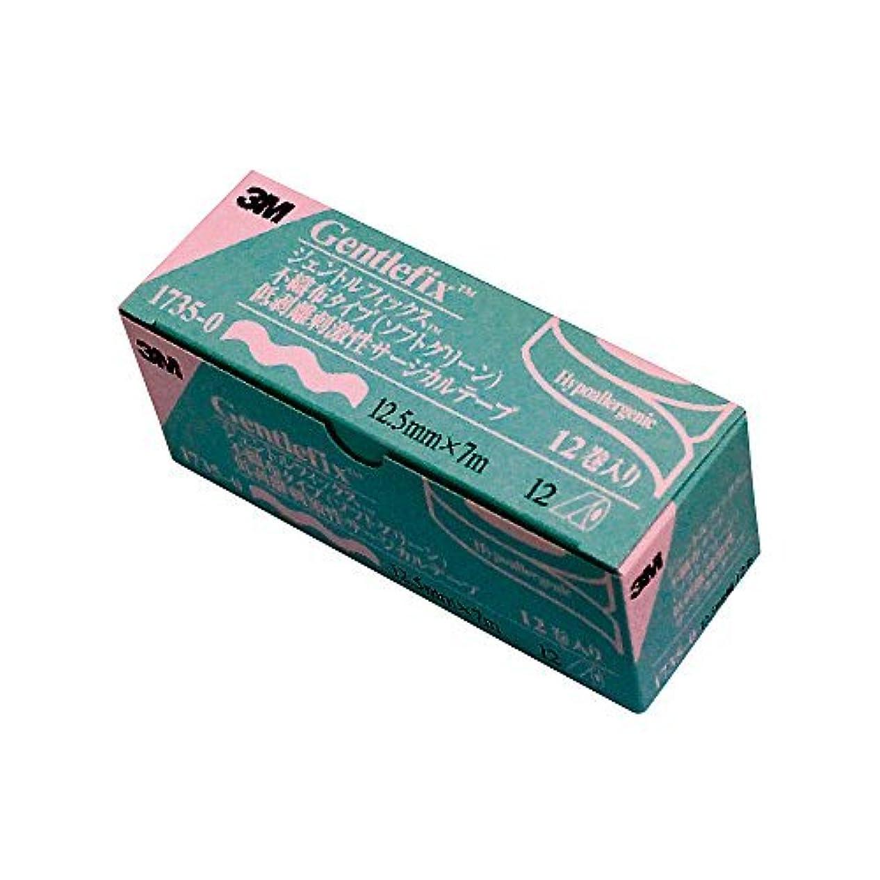 歯昼寝日付付きまつげエクステ 3M ジェントルフィックス(サージカルテープ) (1箱(12巻))