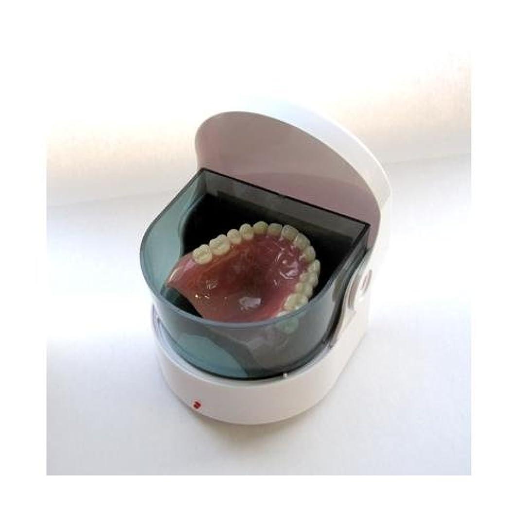 ピアースリズミカルなムスヤザワ 入れ歯洗浄器 SLV01WH