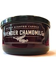 DWホームラベンダーカモミールダブルWick豊かな香りCandle 4.6 Oz