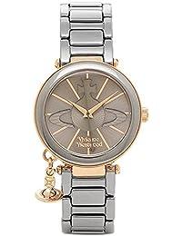 [ヴィヴィアンウエストウッド] レディース腕時計 Vivienne Westwood VV067SLTI ガンメタ ローズゴールド [並行輸入品]