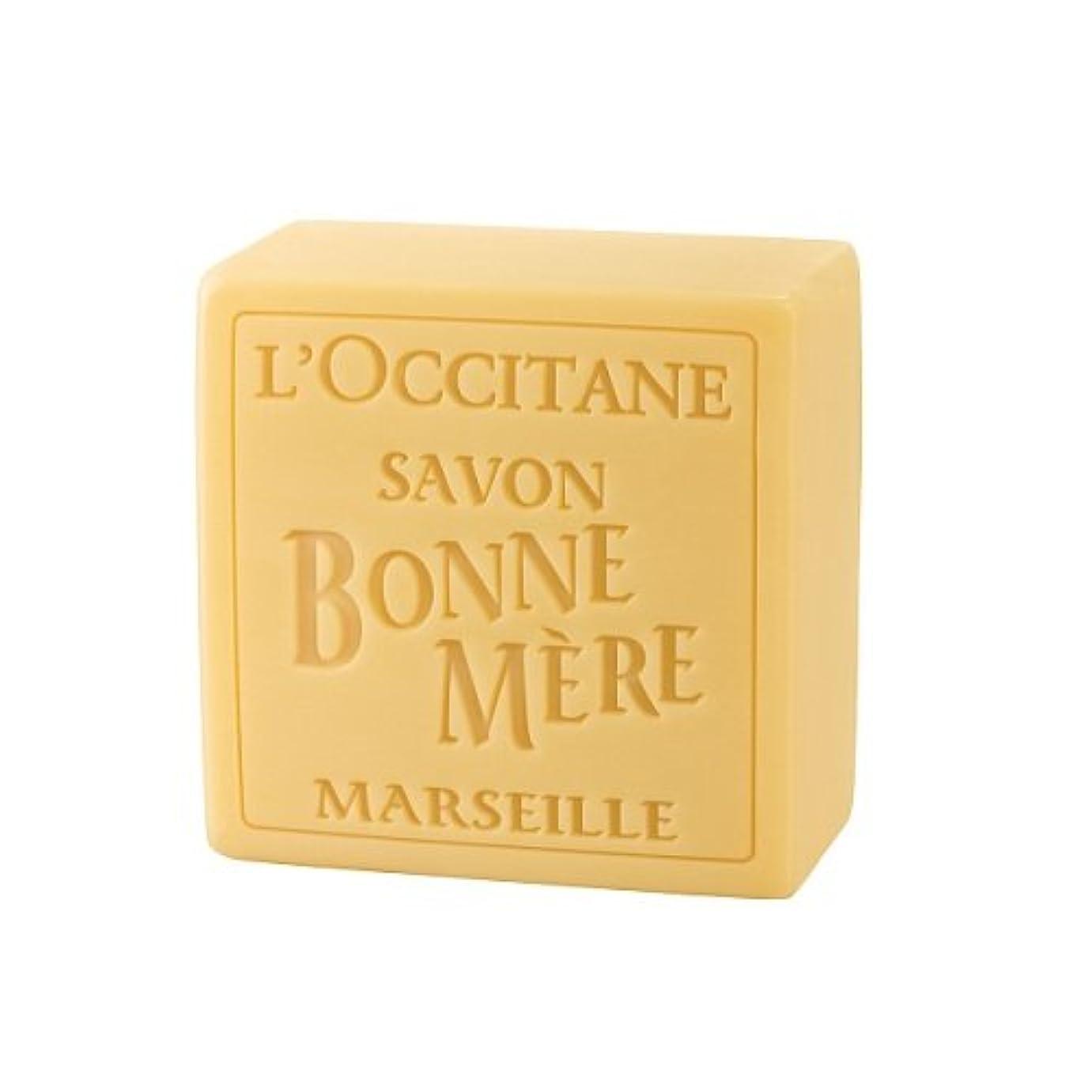 テザーぬれた助けになるロクシタン(L'OCCITANE) ボンメールソープ ハニー 100G