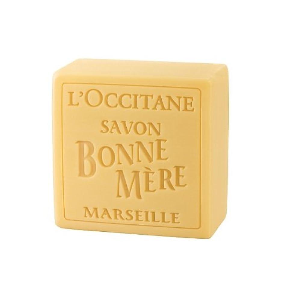 ワイド分数付属品ロクシタン(L'OCCITANE) ボンメールソープ ハニー 100g