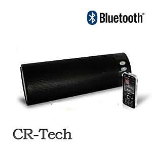 【CR-Techオリジナル】iPhone4・iPad2対応!Bluetooth ステレオスピーカー 改良版ハンズフリー機能付き!