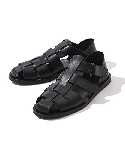 (ナノ・ユニバース) nano・universe グルカサンダル 40 ブラック The Sandals Factory 9999171170196