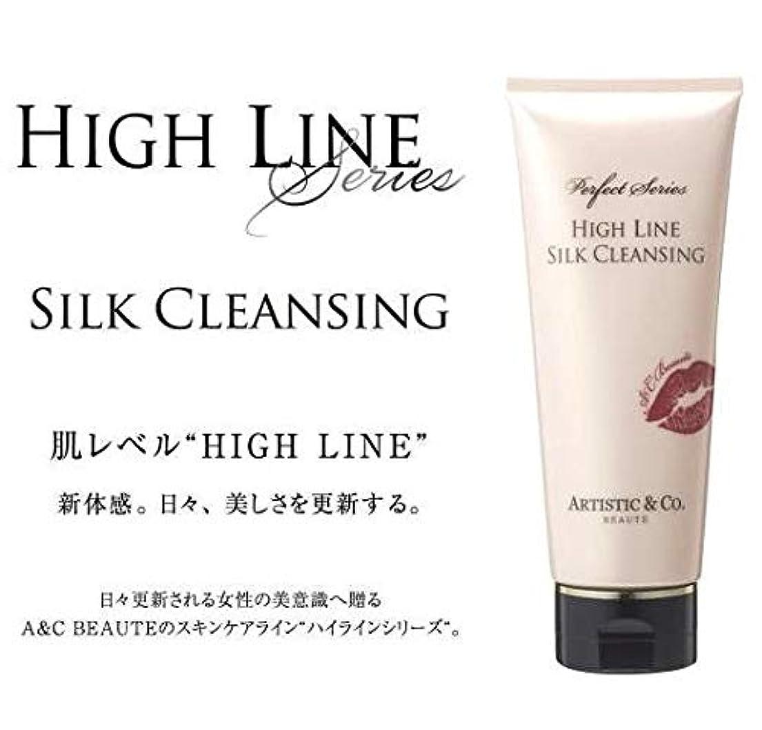 ヒープタンパク質抑止するARTISTIC&CO. (アーティスティック) HIGH LINE SILK CLEANSING ハイライン シルククレンジングジェル 200g レディス メンズ洗顔 美容液クレンジング