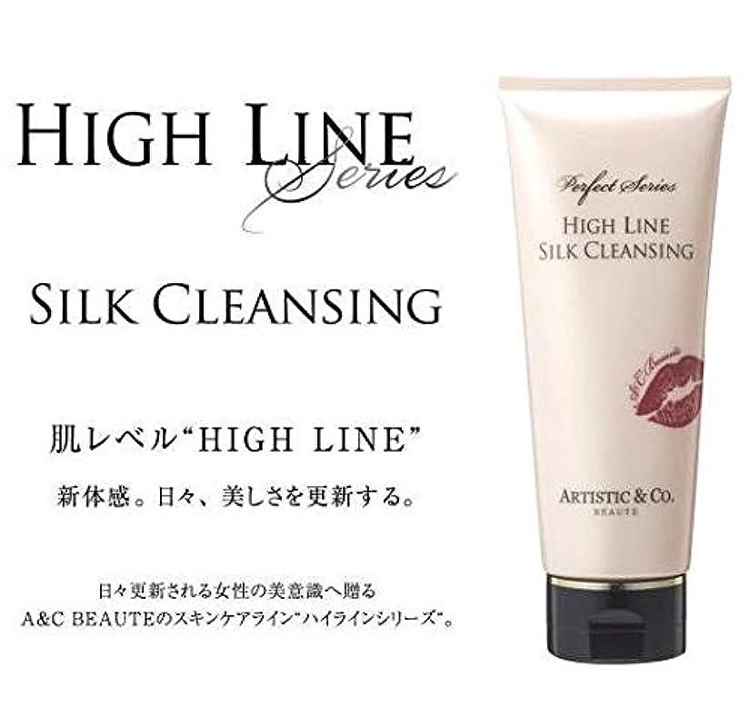 ブランデー反毒インドARTISTIC&CO. (アーティスティック) HIGH LINE SILK CLEANSING ハイライン シルククレンジングジェル 200g レディス メンズ洗顔 美容液クレンジング