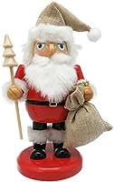 丸和貿易 クリスマス 飾り ナッツクラッカーオブジェ ナチュラルサンタ S 400826002