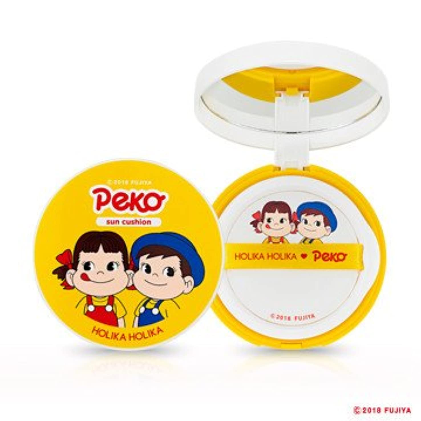 崩壊化粧間違いHolika Holika [Sweet Peko Edition] Mild Sun Cushion SPF45 PA+++ / ホリカホリカ [スイートペコエディション] マイルド サンクッション 13g [並行輸入品]