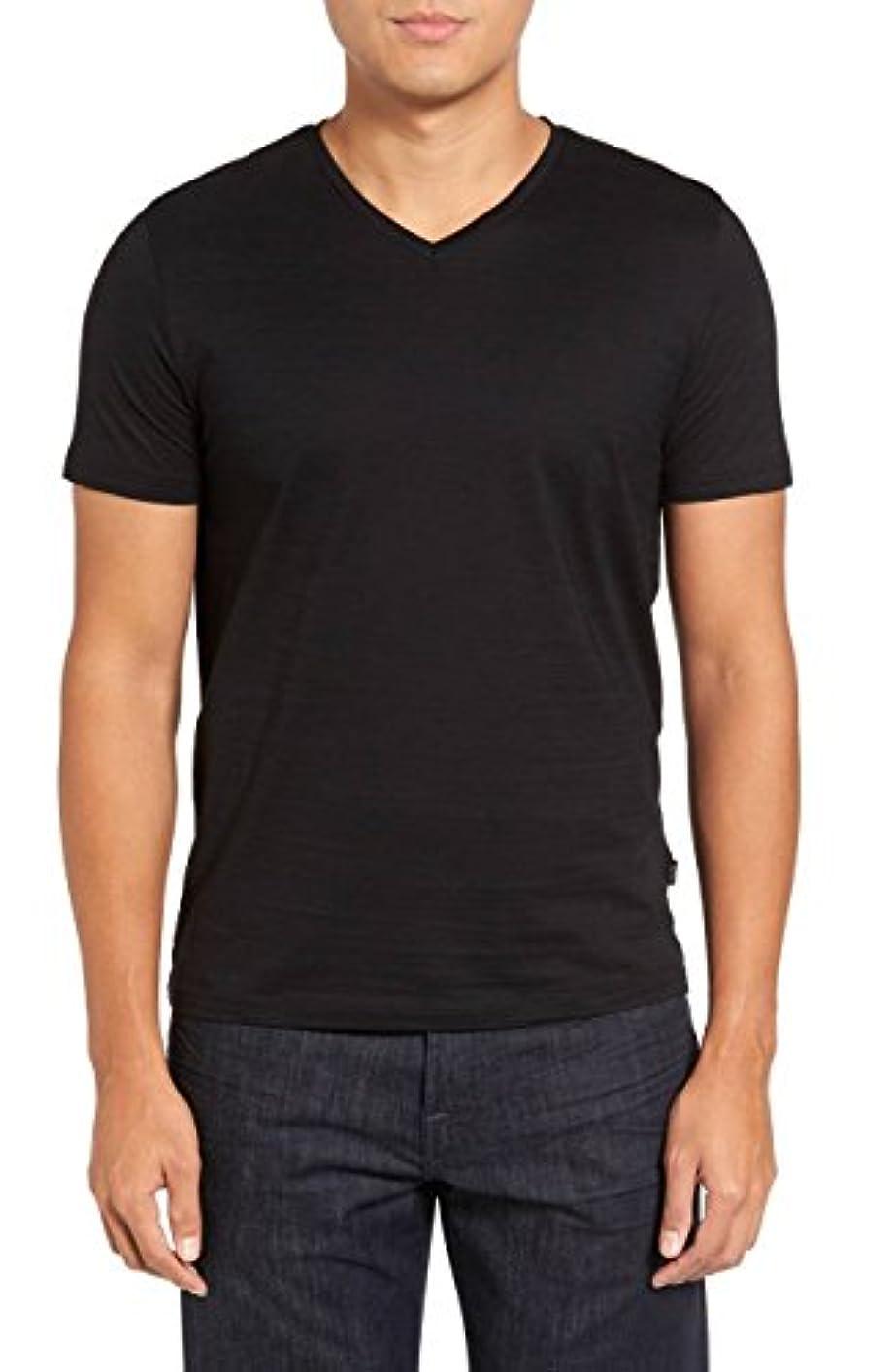 縞模様の咽頭うぬぼれたHugo Boss HOME メンズ US サイズ: X-Large カラー: ブラック