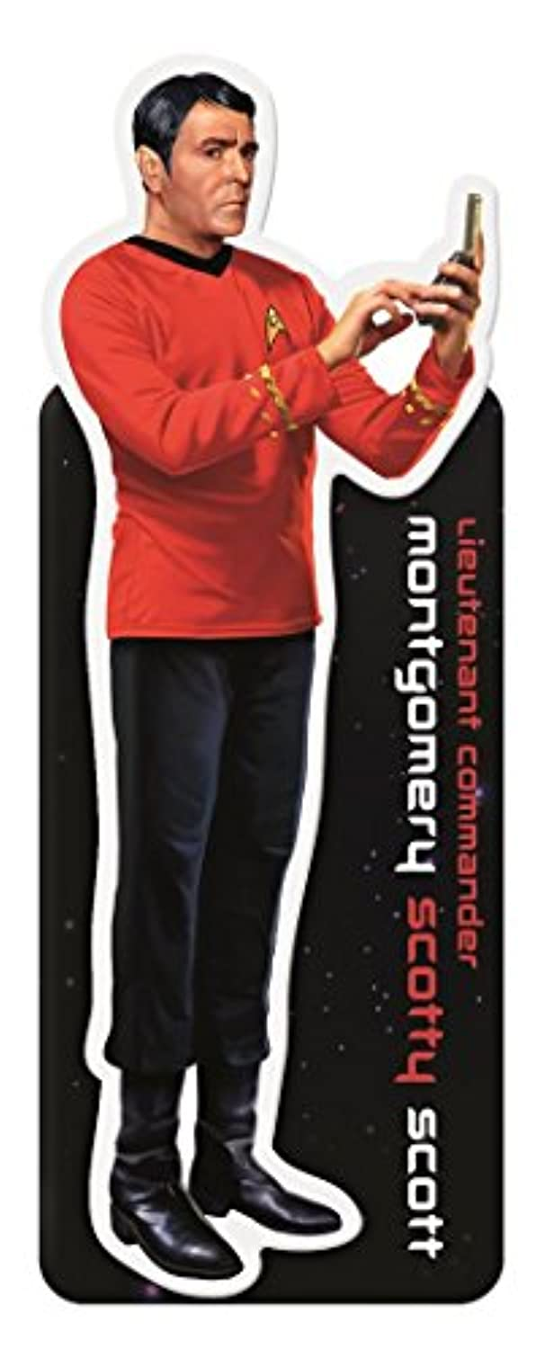 Star Trek Lieutenant Commander Montgomery Scotty Scott Magnetic Bookmark