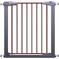 HUO セキュリティドアのガードレールの赤ちゃん階段ドアの柵ペット犬のバリアフェンス 省スペース (サイズ さいず : 77-83cm)