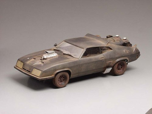 青島文化教材社 1/24 THE ROAD WARRIOR MAD MAX No.1 INTERCEPTOR