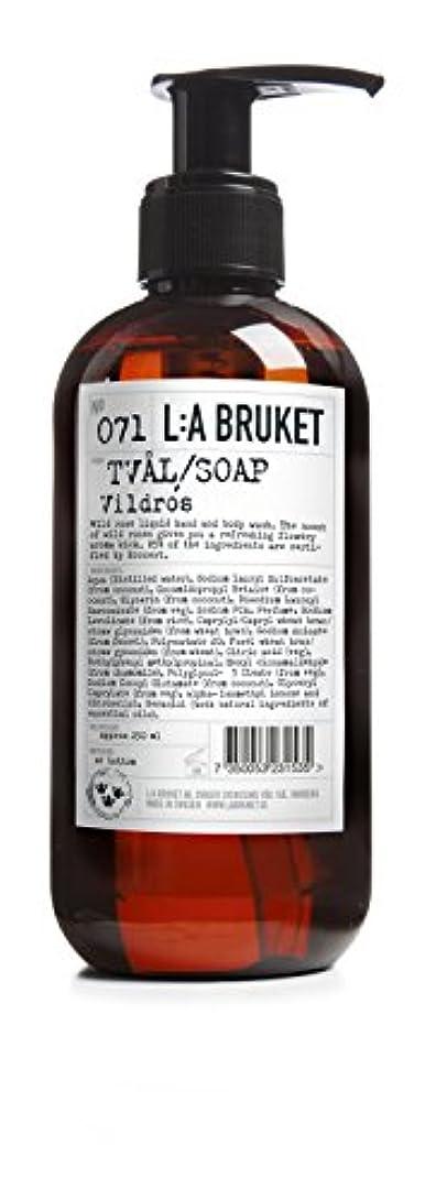憤る流暢物質L:a Bruket (ラ ブルケット) ハンド&ボディウォッシュ (ワイルドローズ) 250g