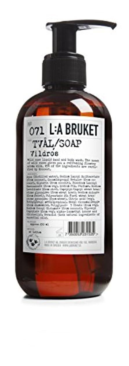 味わうあえて食事L:a Bruket (ラ ブルケット) ハンド&ボディウォッシュ (ワイルドローズ) 250g