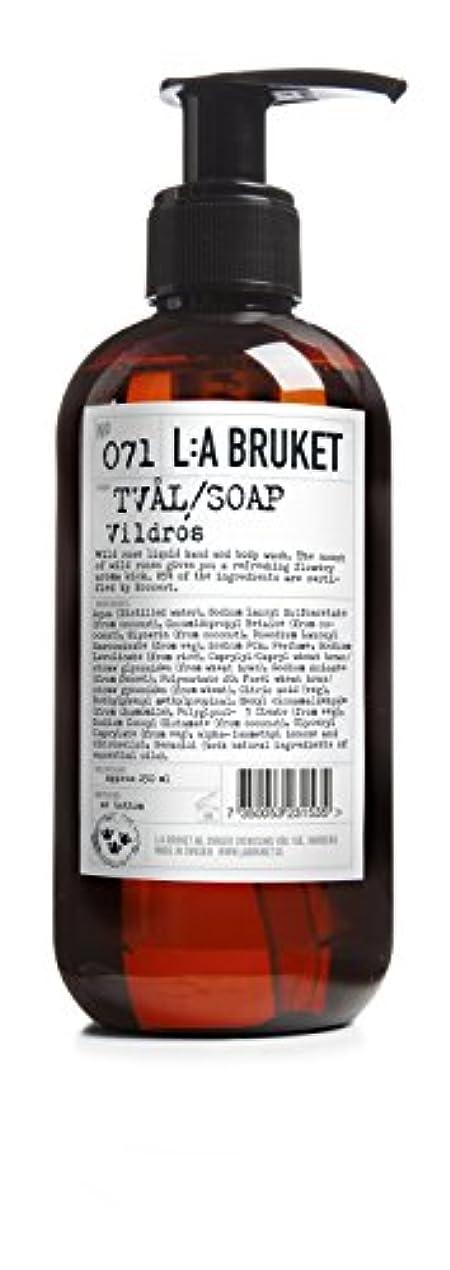 枯渇タオルシダL:a Bruket (ラ ブルケット) ハンド&ボディウォッシュ (ワイルドローズ) 250g