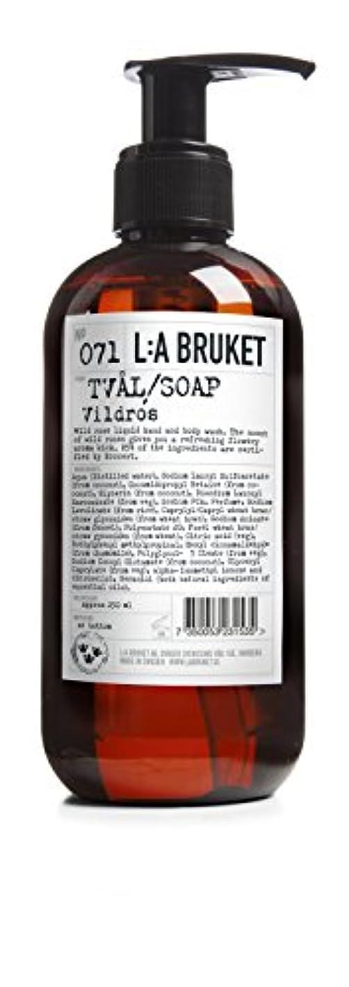 考慮リーズドメインL:a Bruket (ラ ブルケット) ハンド&ボディウォッシュ (ワイルドローズ) 250g