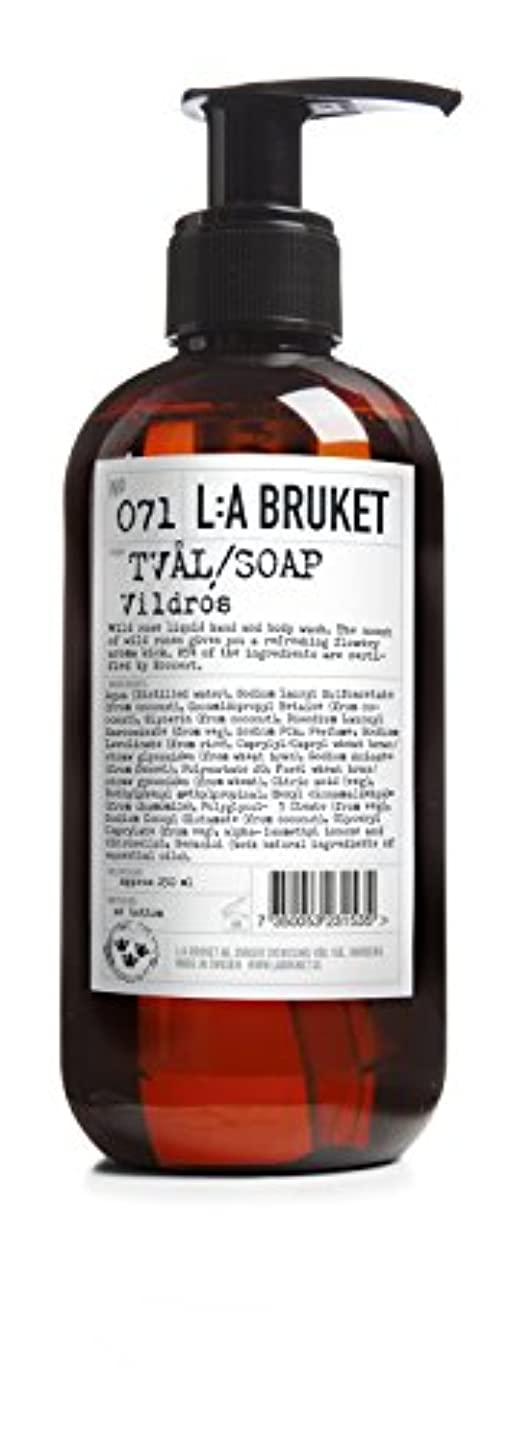 調整可能密度ゴミL:a Bruket (ラ ブルケット) ハンド&ボディウォッシュ (ワイルドローズ) 250g