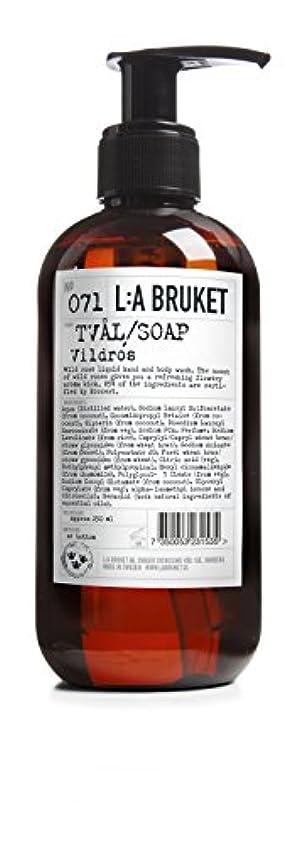 陰気ブランド名修理工L:a Bruket (ラ ブルケット) ハンド&ボディウォッシュ (ワイルドローズ) 250g