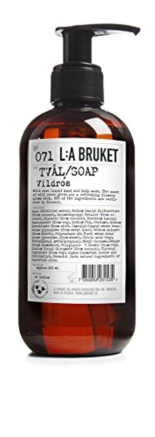 シールパンチ義務L:a Bruket (ラ ブルケット) ハンド&ボディウォッシュ (ワイルドローズ) 250g