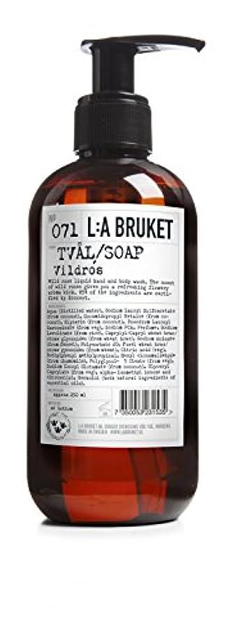 オール地下室同情的L:a Bruket (ラ ブルケット) ハンド&ボディウォッシュ (ワイルドローズ) 250g