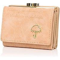 APHISON ミニ財布 レディース 三つ折り 財布 人気 小銭入れ コインケース がま口 小さい財布 カワイイ ウォレット 女性用 全7色 ギフト