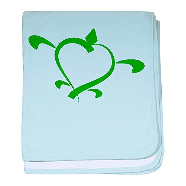 CafePress – Turtle Love – スーパーソフトベビー毛布、新生児おくるみ ブルー 049489018125CD2