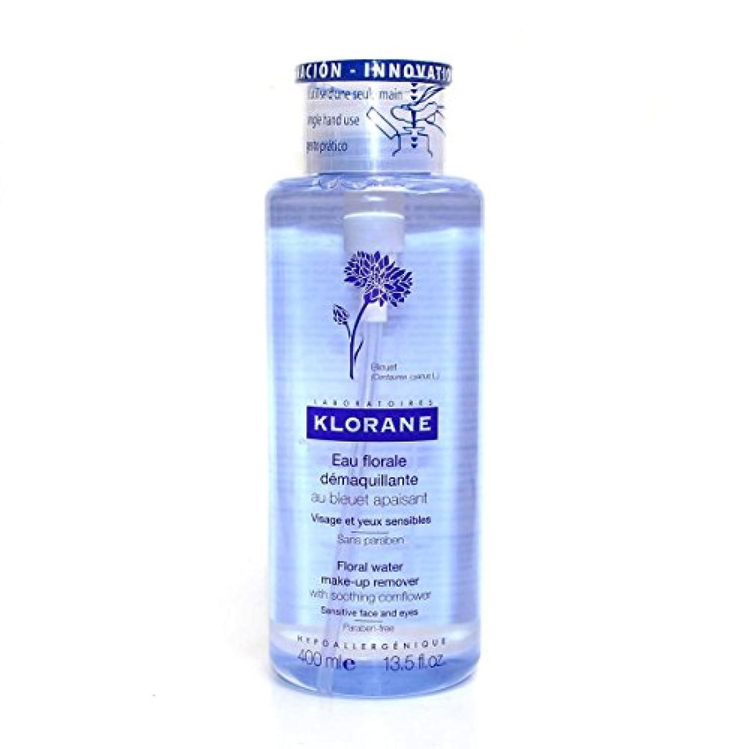税金期間改修Klorane Floral Water Cleanser Face And Eyes 400ml [並行輸入品]