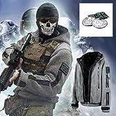 01 COD MW2 MW3 TF141 Call of Duty コールオブデューティ ジャケット コスプレ 戦闘服 サイズL 約170~174cmに適応