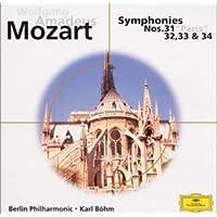 モーツァルト:交響曲第31番~第34番