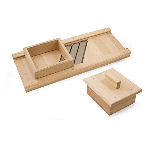 TSM Products木製キャベツスライサ、ミディアム