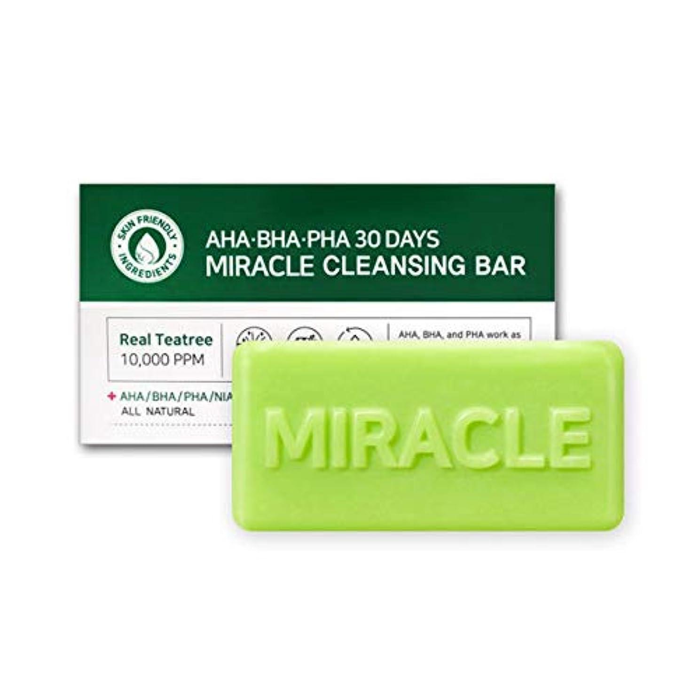 所有者コウモリ通路[SOME BY MI/サムバイミー] AHA BHA PHA 30Days Miracle Cleansing Bar 95g/AHA BHA PHA 30デイズ ミラクル 洗顔 石けん 95g [並行輸入品]