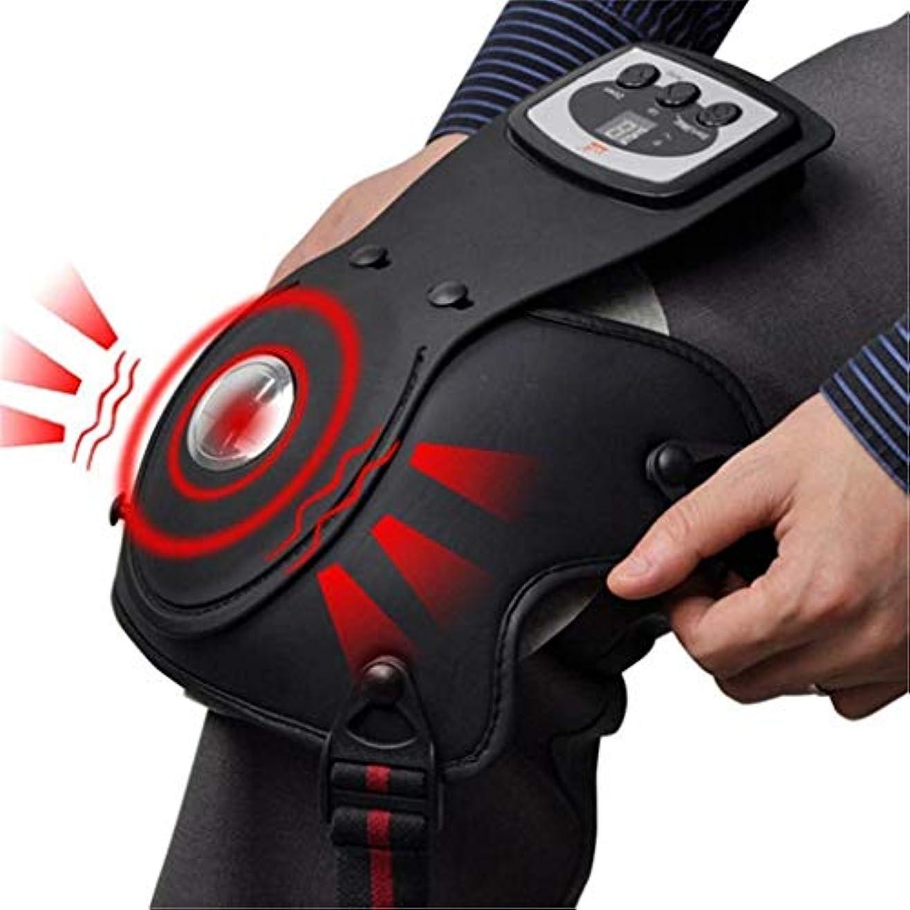 汚れる残る心配フットケア機器、膝磁気療法/振動/加熱マッサージ理学療法、電気マッサージ器、痛みを緩和するリハビリ機器