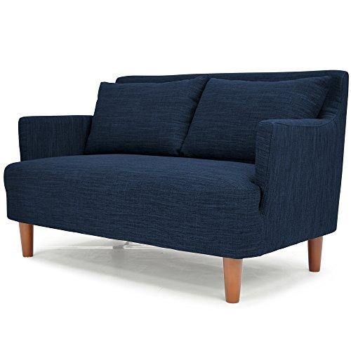 北欧風デザイン 木枠ソファ 「 バレンティナ 」 二人掛け