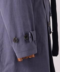 Per Bacco Trench Coat 11-19-0187-730: Navy