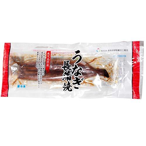 【鹿児島産うなぎ長焼き3パック】貴重な国産うなぎ蒲焼 110g たれ付き×3パック 冷凍商品